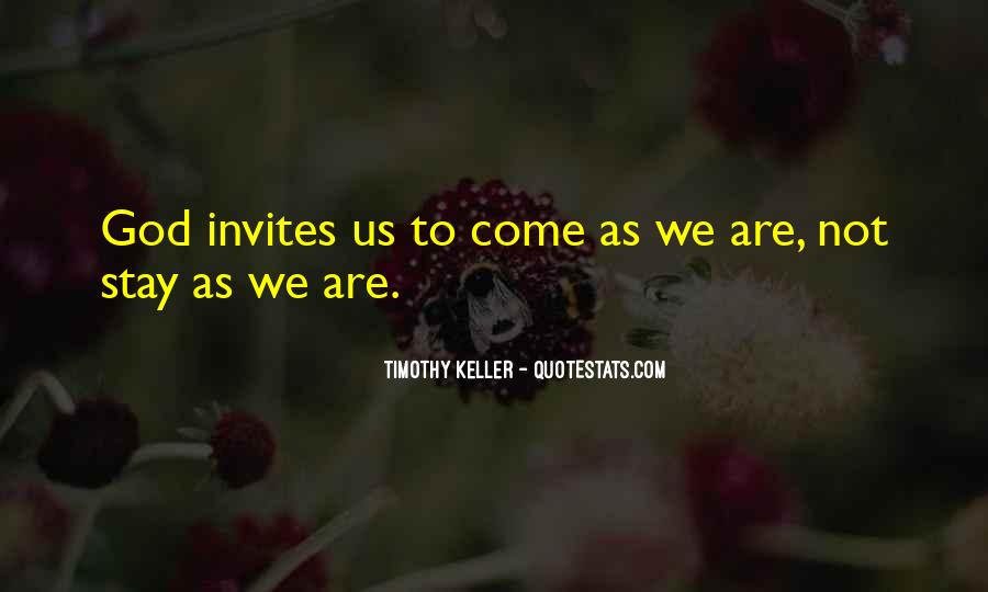 Timothy Keller Quotes #254431