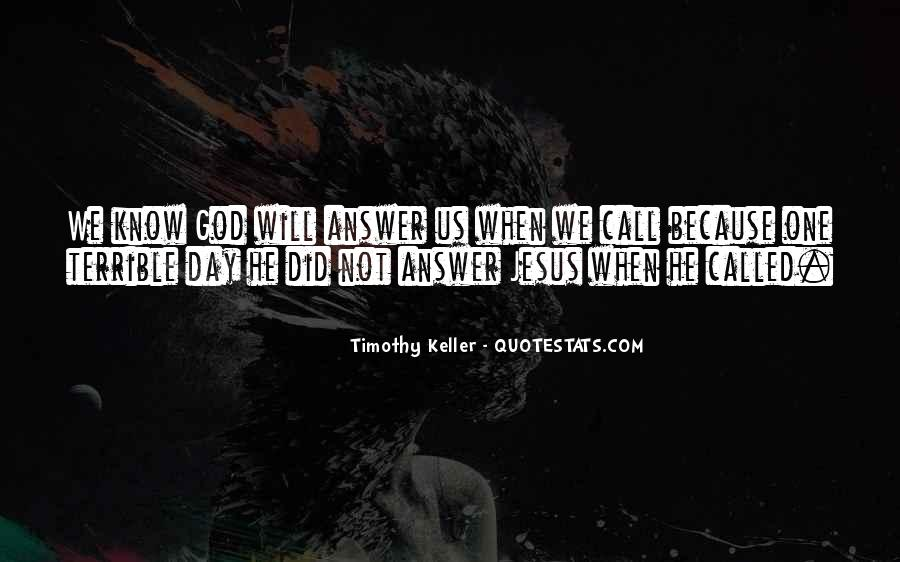 Timothy Keller Quotes #69296