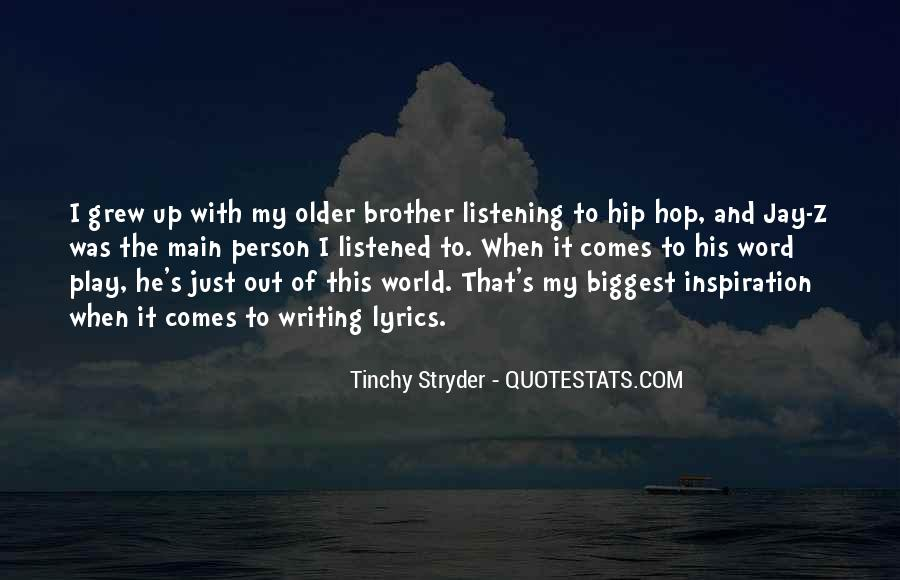 Tinchy Stryder Quotes #50166