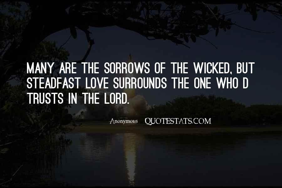 Quotes About Sorrows #11826