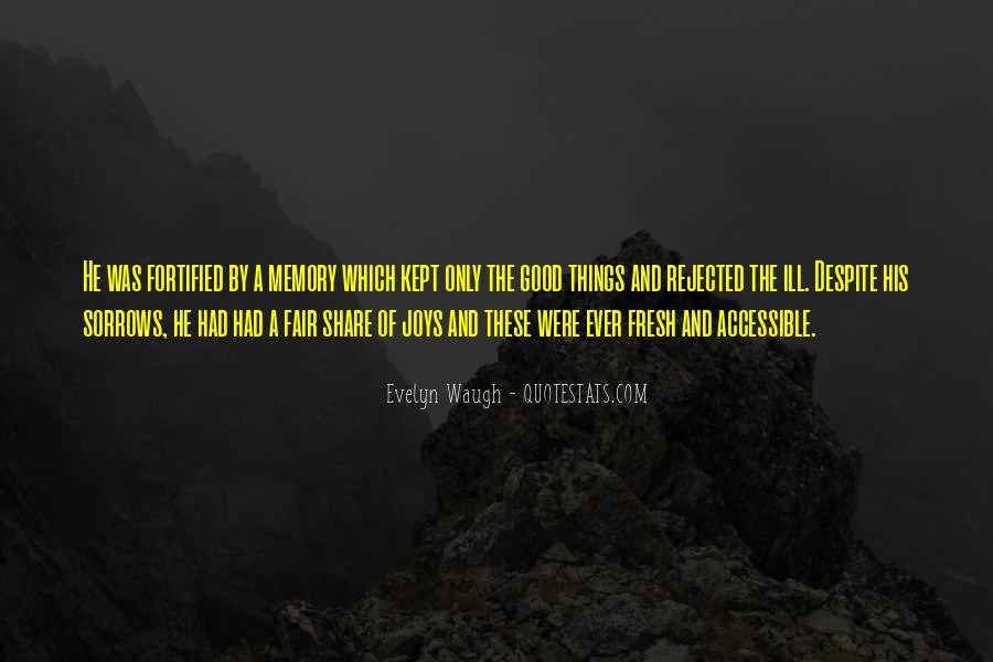 Quotes About Sorrows #151739