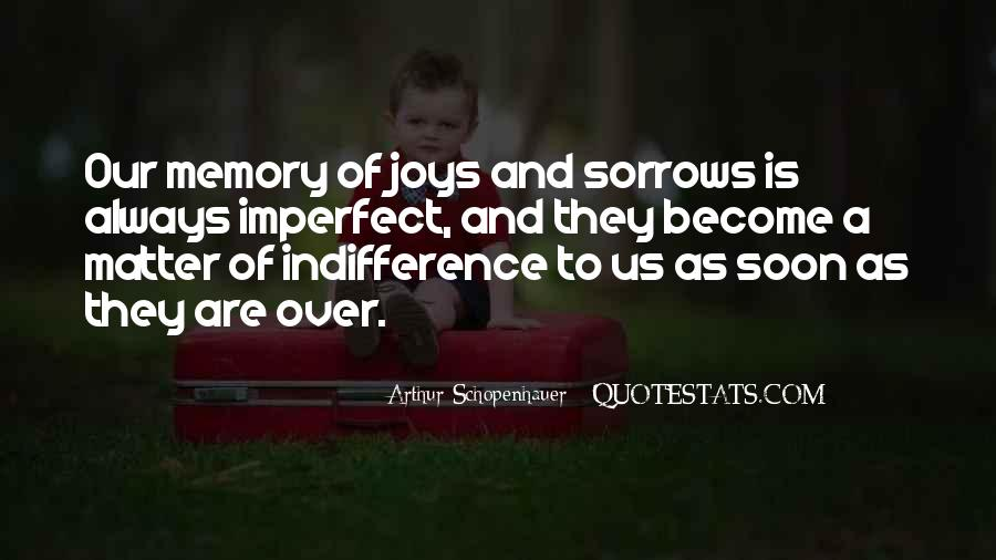 Quotes About Sorrows #177724