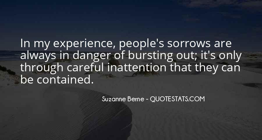 Quotes About Sorrows #203014