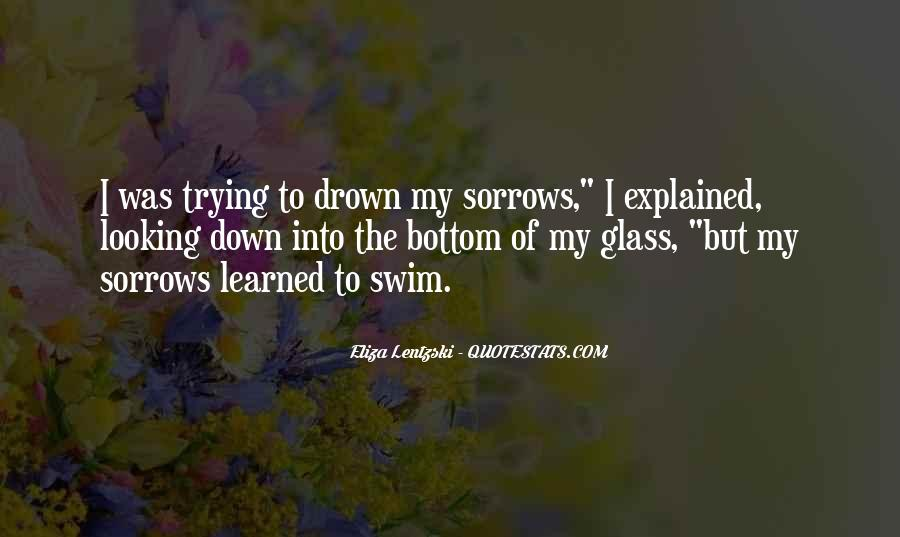 Quotes About Sorrows #217652