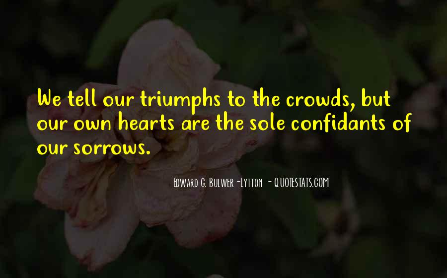 Quotes About Sorrows #225211