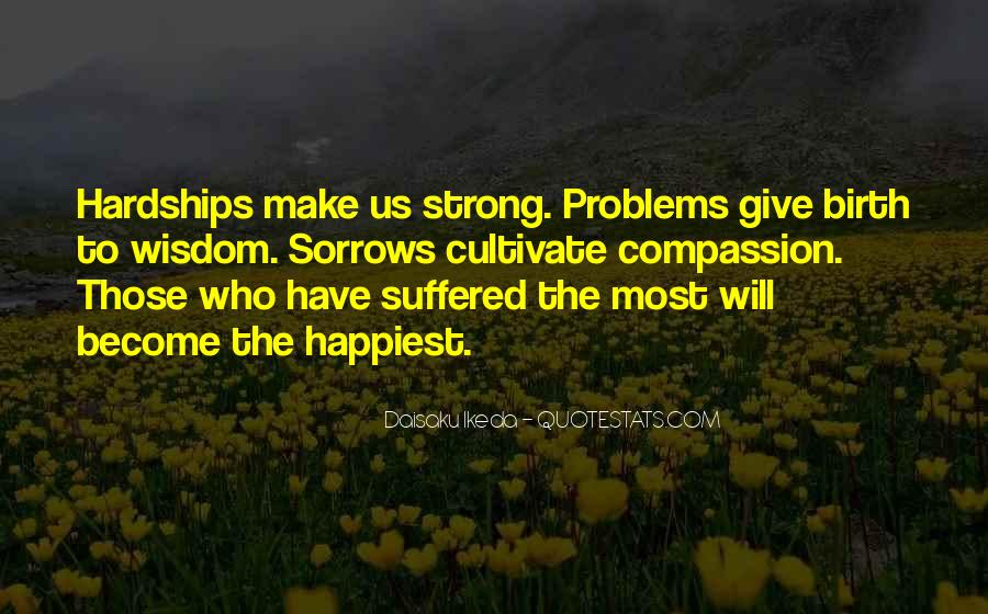 Quotes About Sorrows #238003