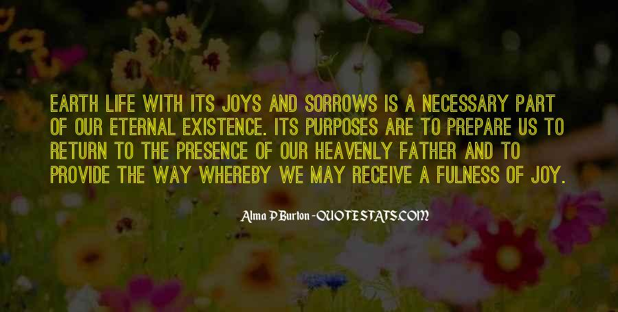 Quotes About Sorrows #273599