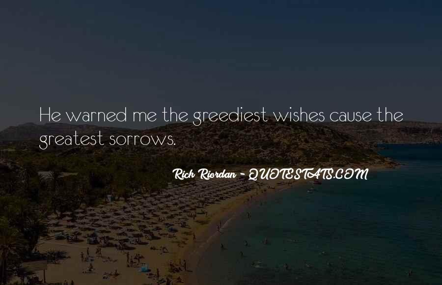 Quotes About Sorrows #277566
