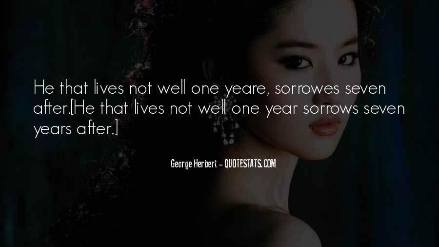 Quotes About Sorrows #280498