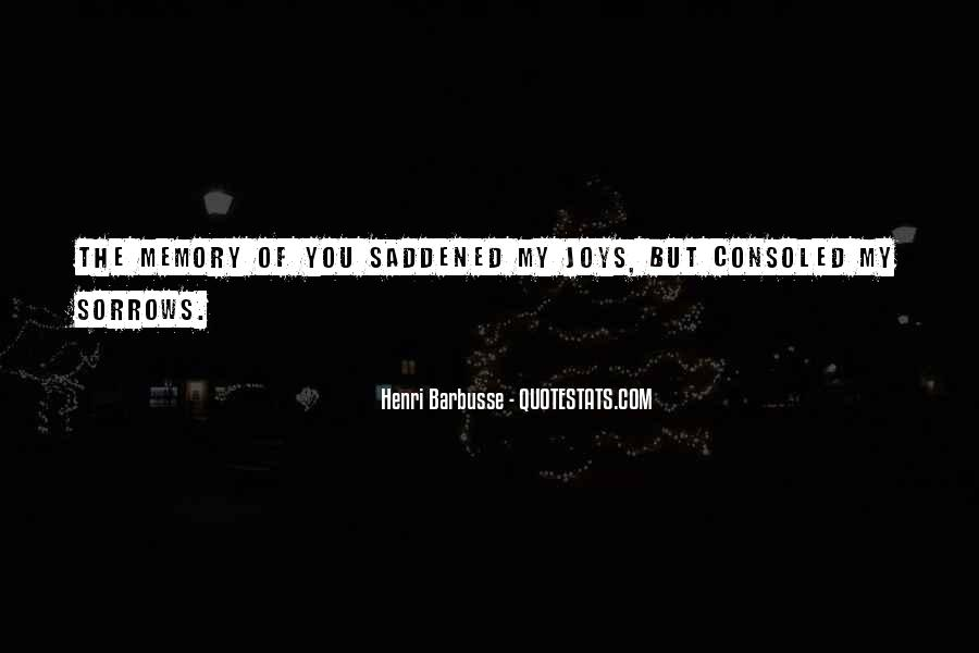 Quotes About Sorrows #55196