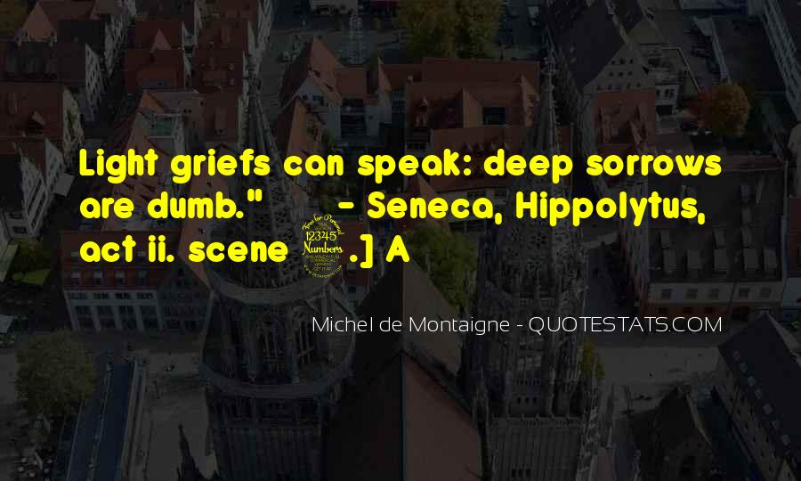 Quotes About Sorrows #95903