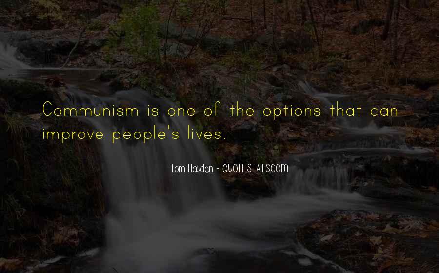 Tom Hayden Quotes #1106644