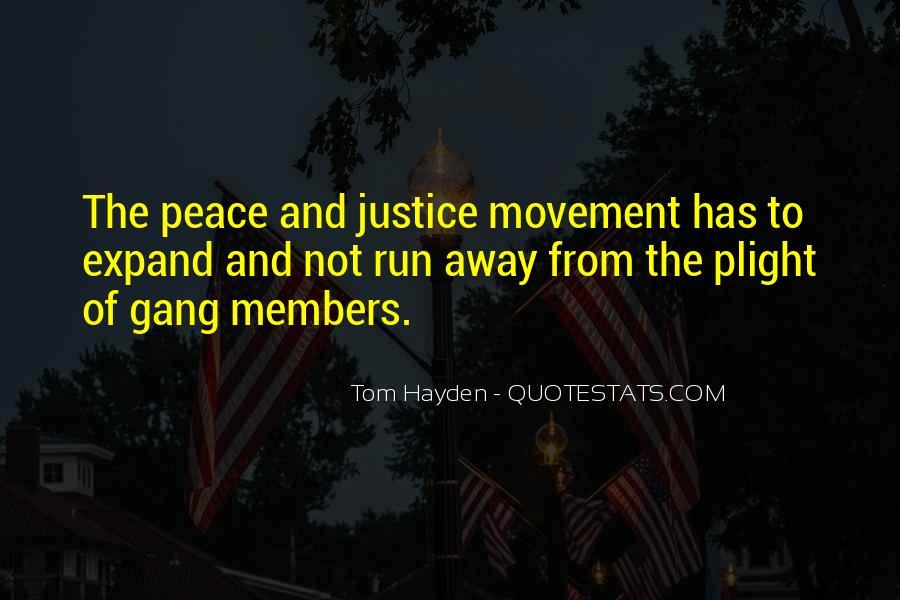 Tom Hayden Quotes #1188214