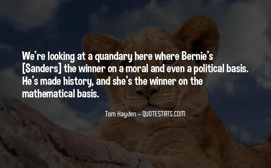 Tom Hayden Quotes #1316489