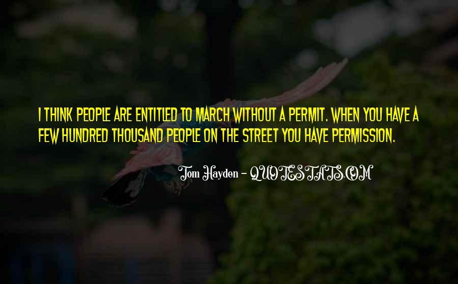 Tom Hayden Quotes #496118