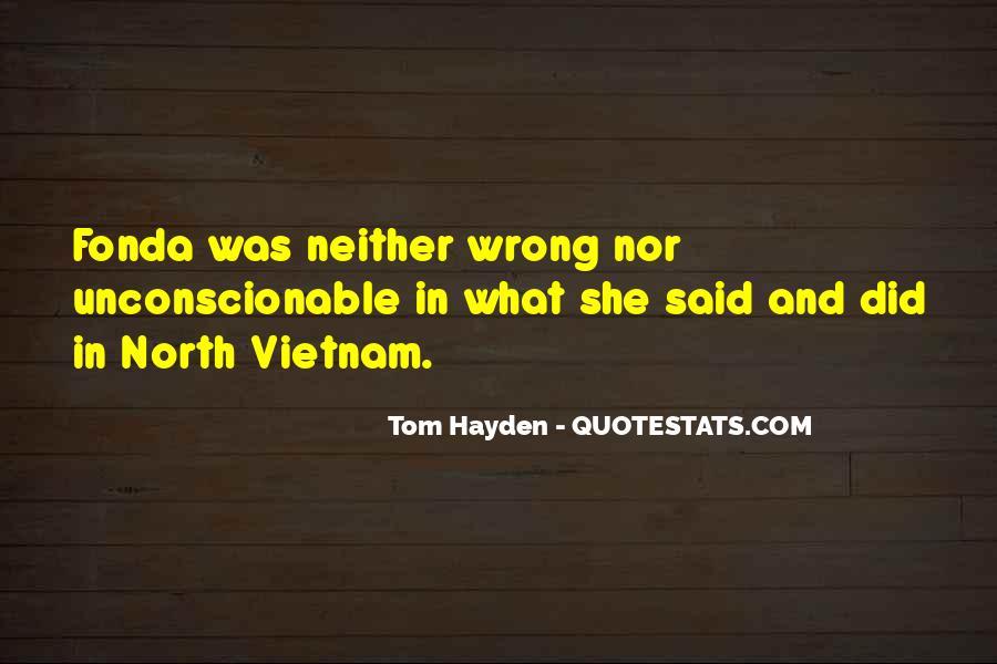 Tom Hayden Quotes #847826