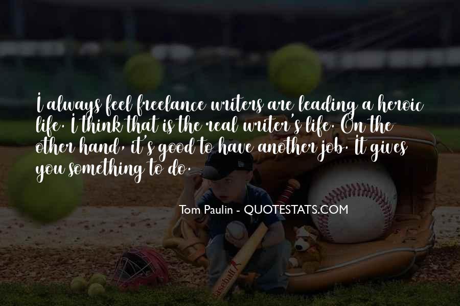 Tom Paulin Quotes #1361980