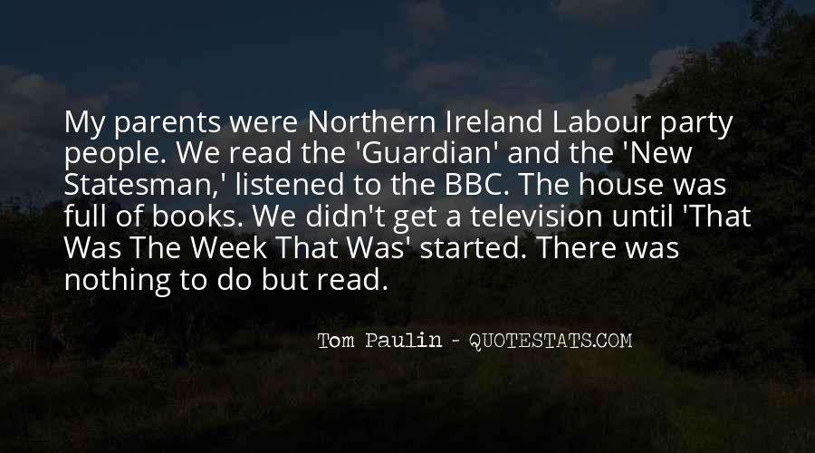 Tom Paulin Quotes #1589732