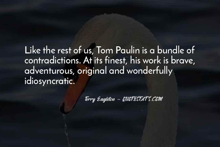 Tom Paulin Quotes #265308