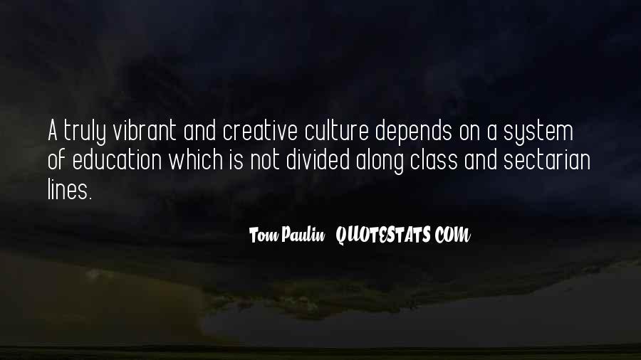 Tom Paulin Quotes #318650