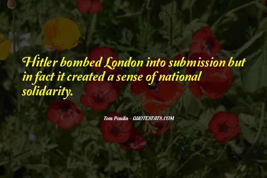 Tom Paulin Quotes #4199