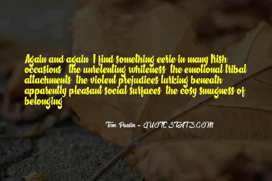 Tom Paulin Quotes #660607