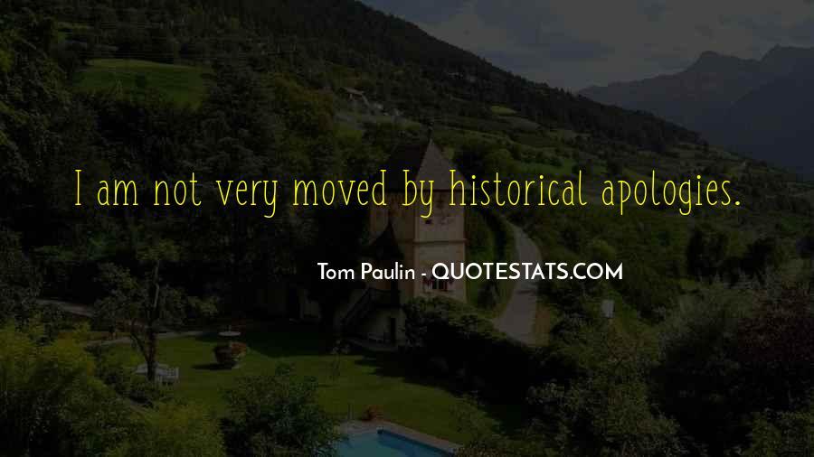 Tom Paulin Quotes #797847