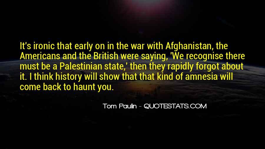 Tom Paulin Quotes #855133