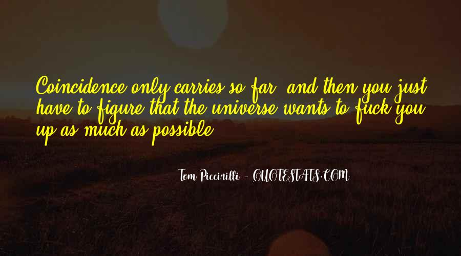 Tom Piccirilli Quotes #1454998