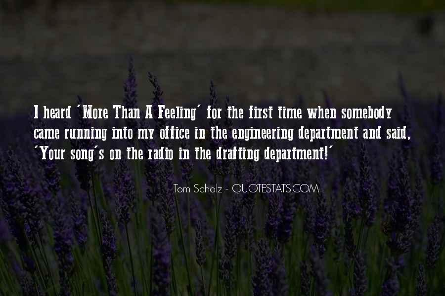 Tom Scholz Quotes #578165