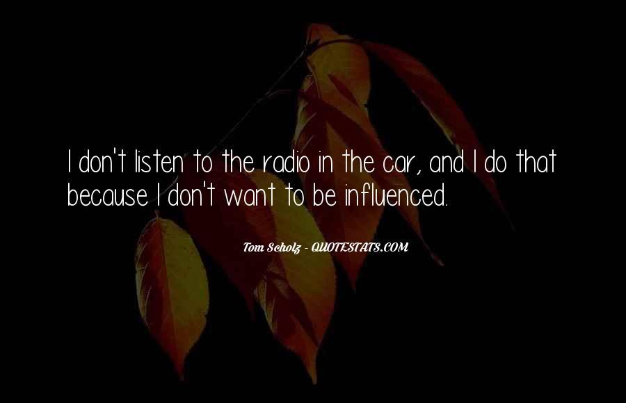 Tom Scholz Quotes #87727