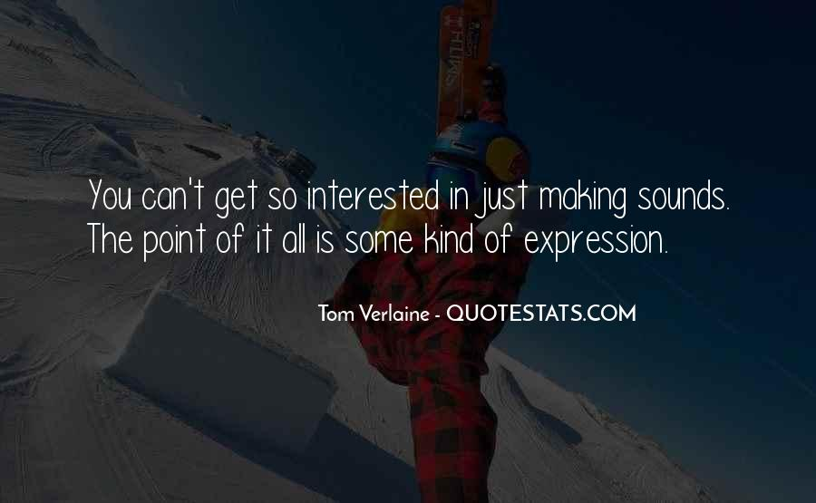 Tom Verlaine Quotes #1032651