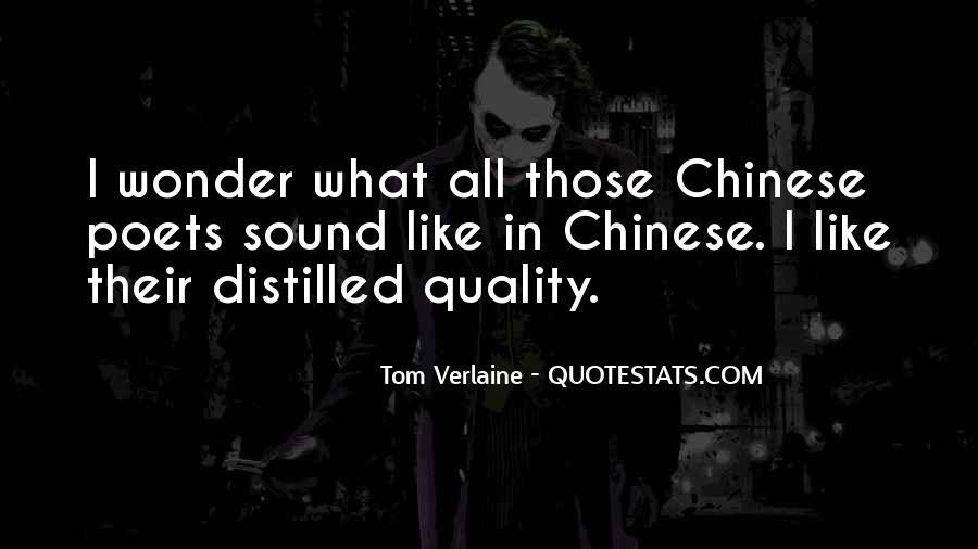 Tom Verlaine Quotes #135807