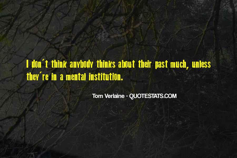 Tom Verlaine Quotes #1408946