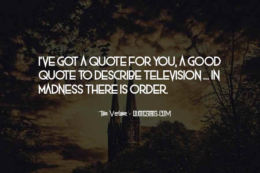 Tom Verlaine Quotes #1428567
