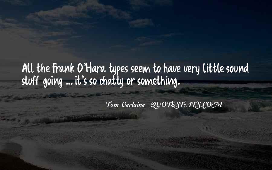 Tom Verlaine Quotes #1700707