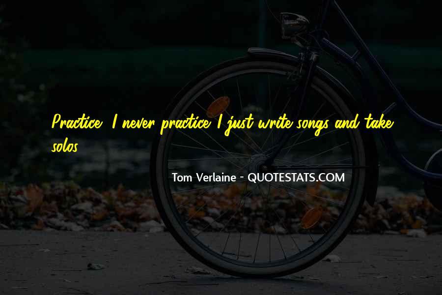 Tom Verlaine Quotes #1721852