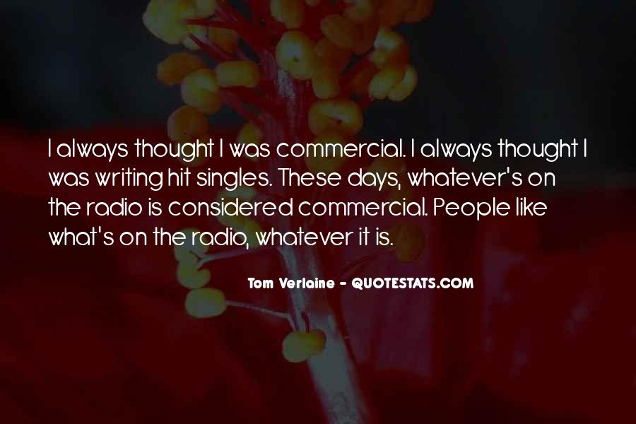 Tom Verlaine Quotes #1825241