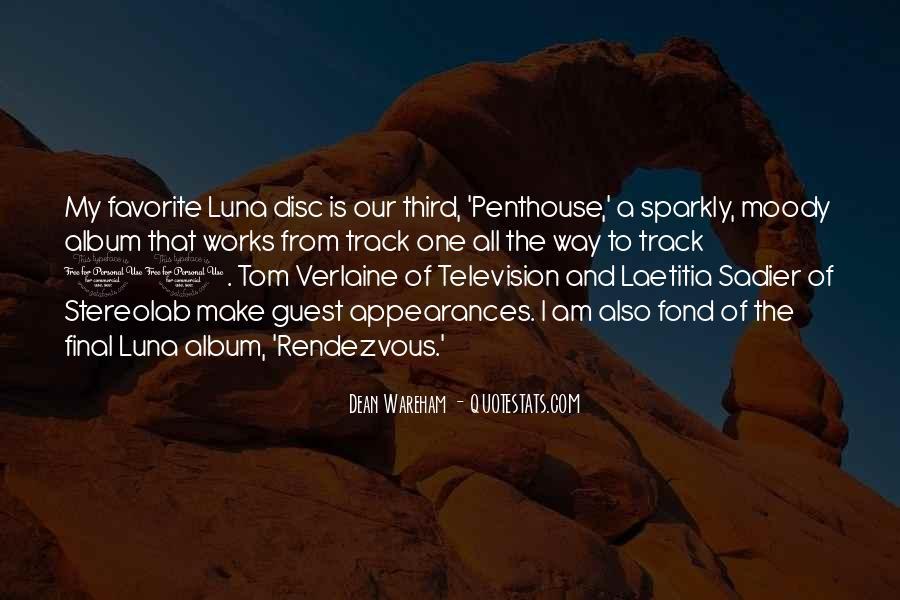 Tom Verlaine Quotes #785845