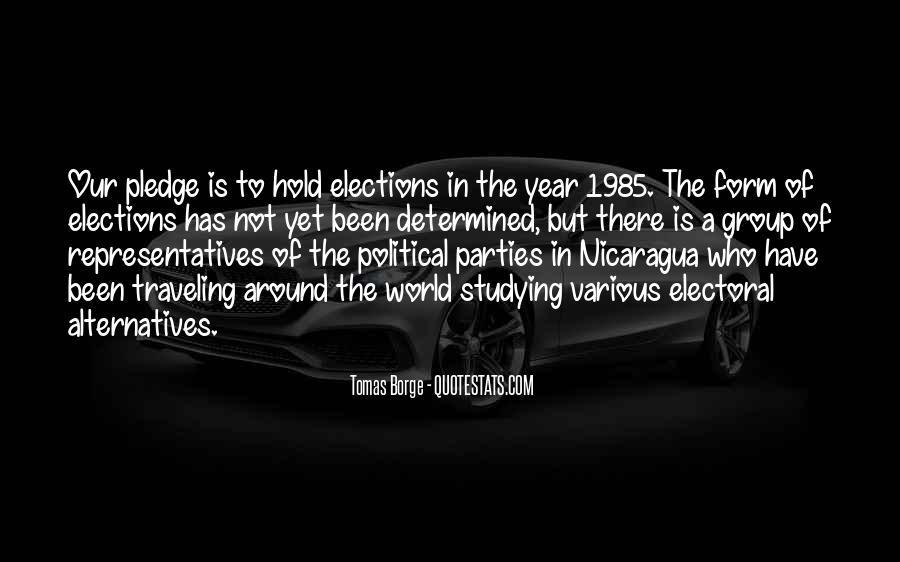 Tomas Borge Quotes #1211591