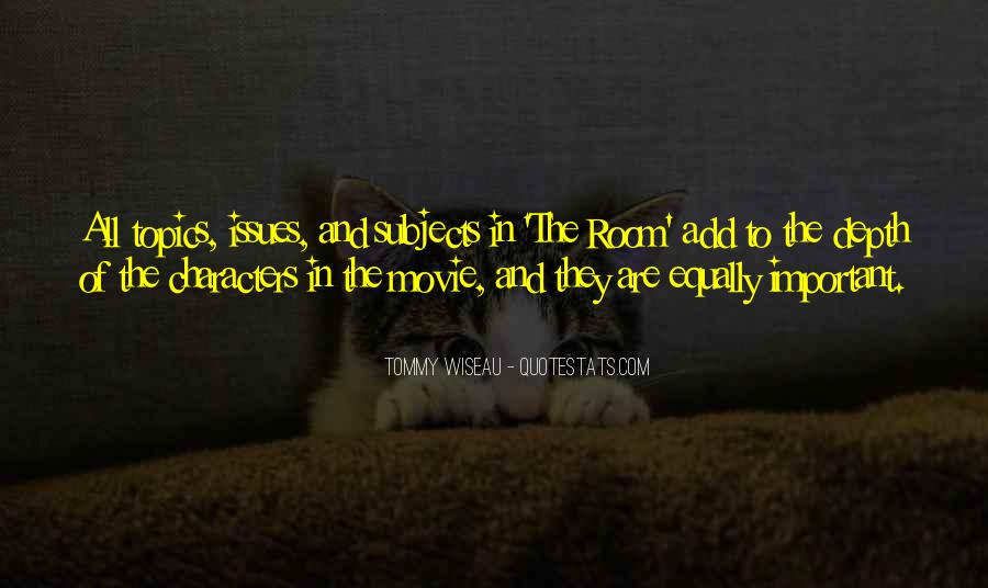 Tommy Wiseau Quotes #451313