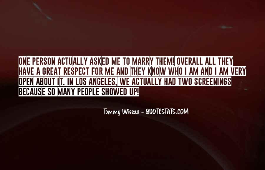 Tommy Wiseau Quotes #930104