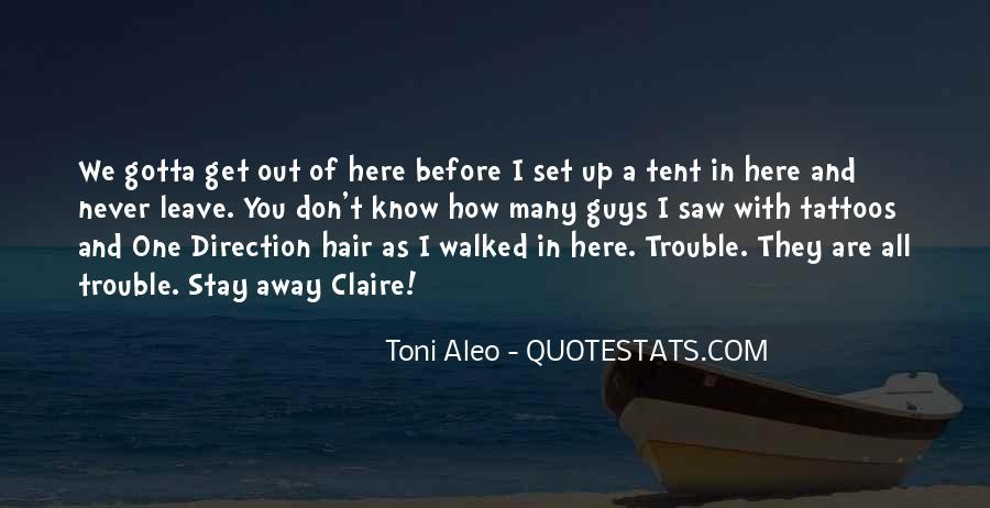Toni Aleo Quotes #1364216