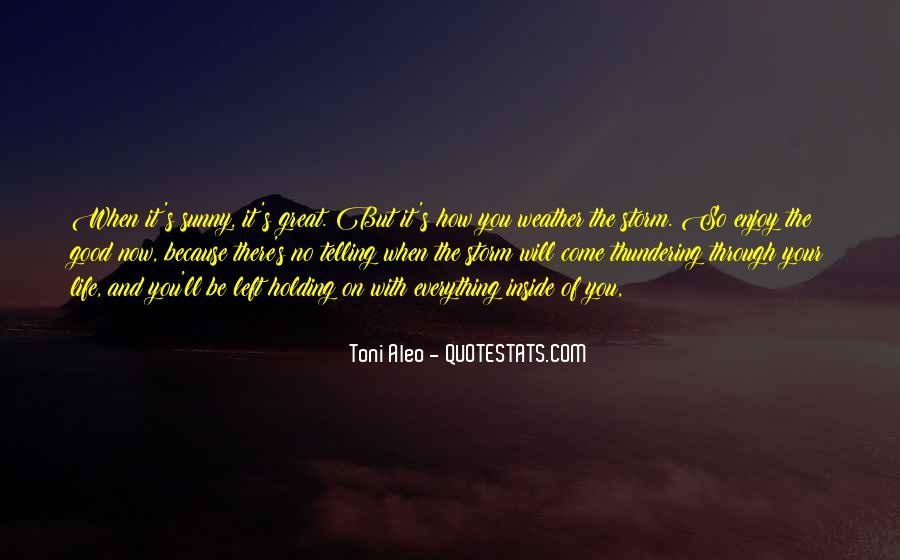 Toni Aleo Quotes #1442501