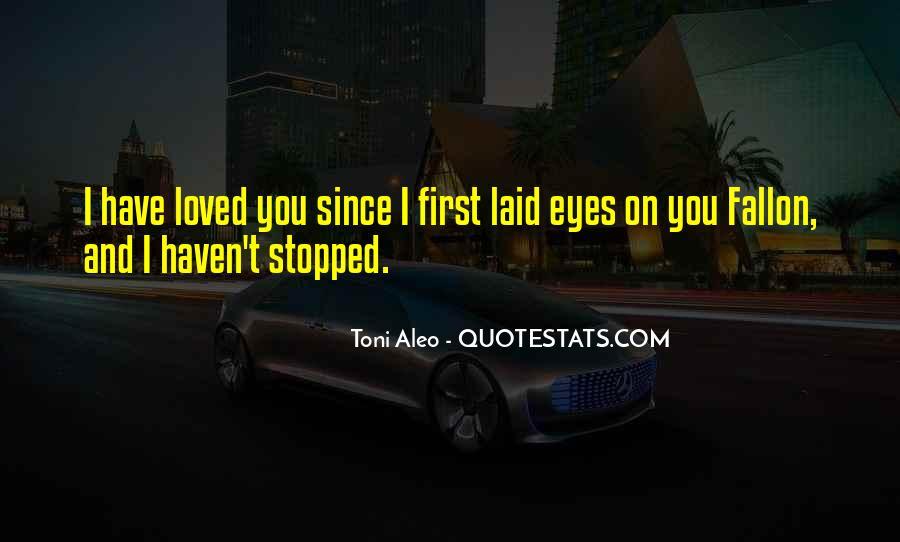 Toni Aleo Quotes #1489945