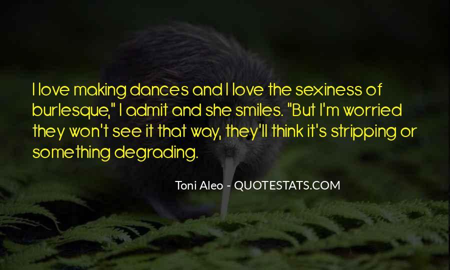 Toni Aleo Quotes #1540851