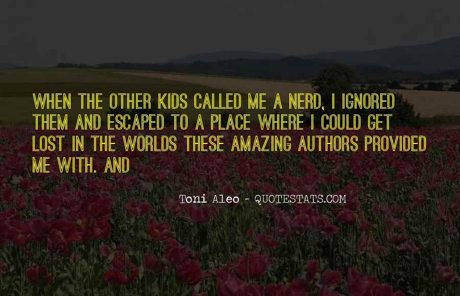 Toni Aleo Quotes #833213