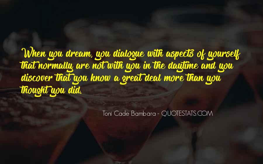 Toni Cade Bambara Quotes #1213450