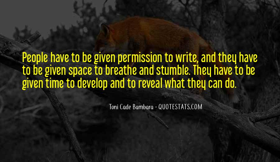 Toni Cade Bambara Quotes #159572
