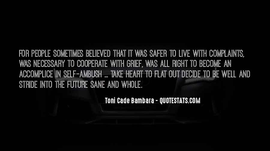 Toni Cade Bambara Quotes #457091